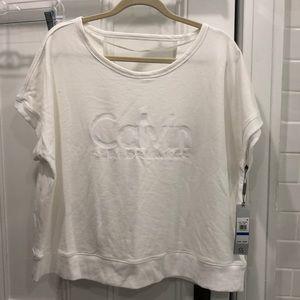 Calvin Klein Performance Short sleeved sweatshirt